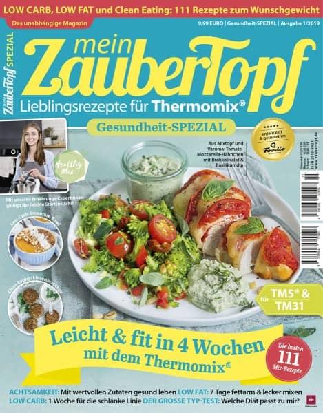 mein ZauberTopf Gesundheit-SPEZIAL - Ausgabe 01/2019
