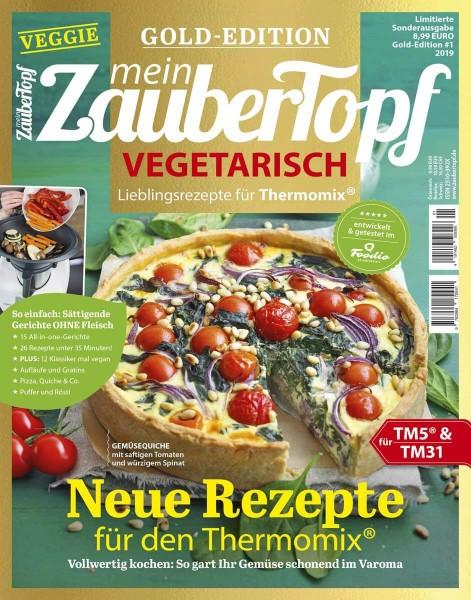 mein ZauberTopf Gold-Edition «Vegetarisch» | Ausgabe 01/2019