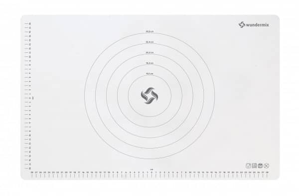 Teigunterlage «Wundermix» | Premium-Teigmatte aus Silikon