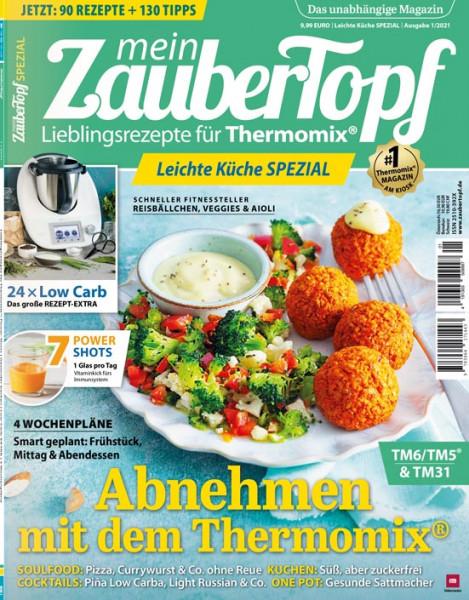 mein ZauberTopf Leichte Küche-SPEZIAL - Ausgabe 01/2021