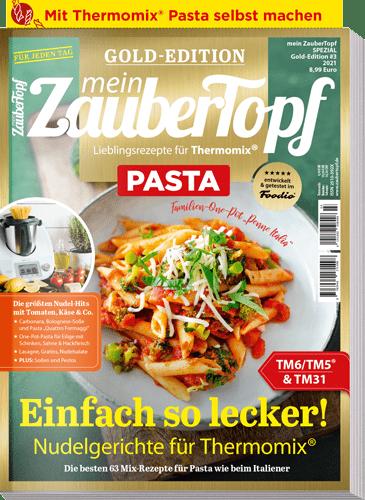 mein ZauberTopf Gold-Edition «Pasta» | Ausgabe 03/2021