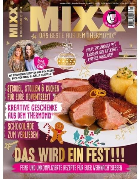 Zeitschrift MIXX - Ausgabe 01/2021 (November/Dezember)