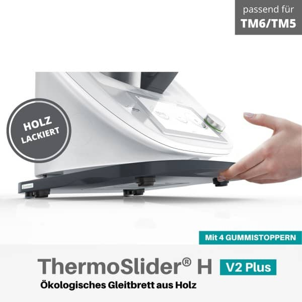 ThermoSlider® H | V2 Plus | Graphitgrau | Gleitbrett für Thermomix TM6/TM5